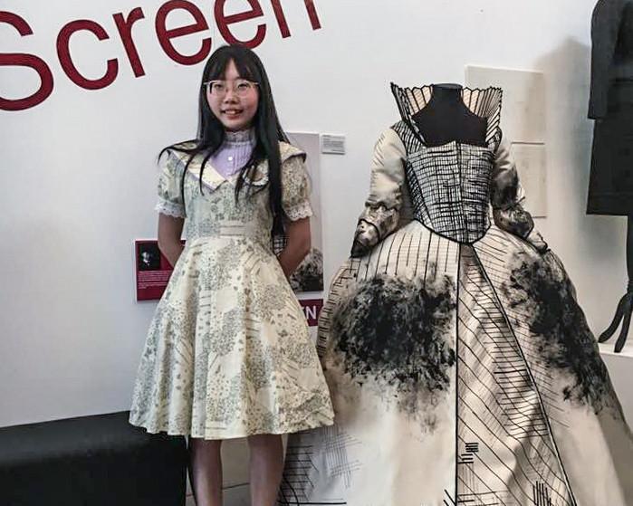 Vivian Chen, BA Costume Design, WImbledon College of Arts 2018