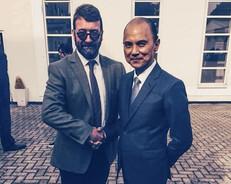 Robert with Jimmy Choo 2015