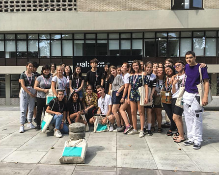 Students at Camberwell College of Arts 2018