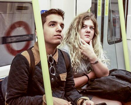 Students on underground 2014