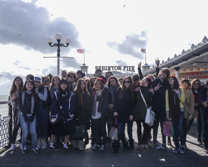 Students in Brighton 2014
