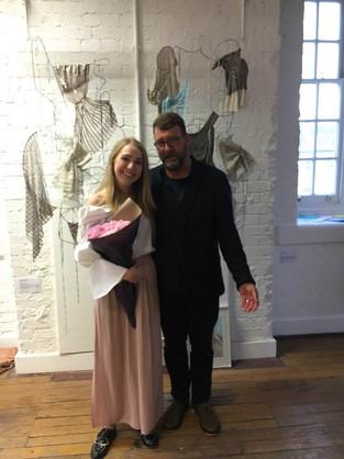 Annie Sviridova. BA (Hons) Textile Design - Chelsea College of Arts