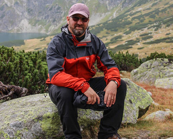 Robert in High Tatras 2013