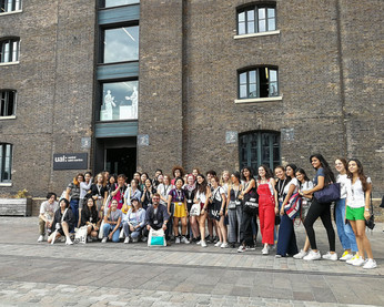 Students at Central Saint Martins