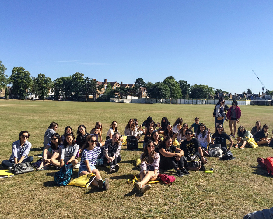 Students in Wimbledon 2013