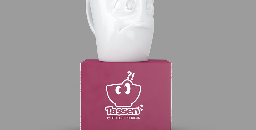 """Espresso-Mug mit Henkel """"Verdutzt"""", 80 ml"""