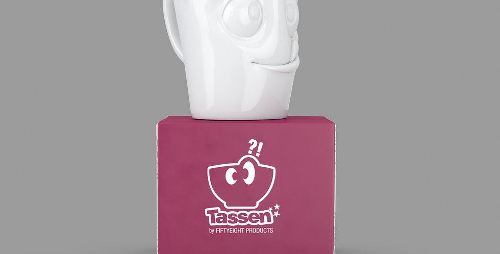 """Espresso-Mug mit Henkel """"Lecker"""", 80 ml"""