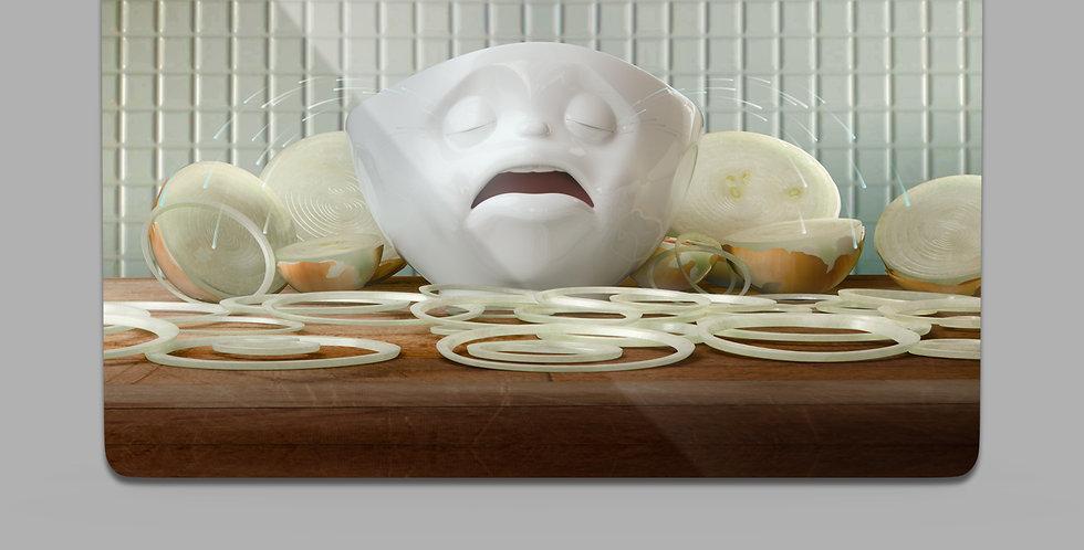 """Frühstücksbrettchen """"Flenn net"""""""