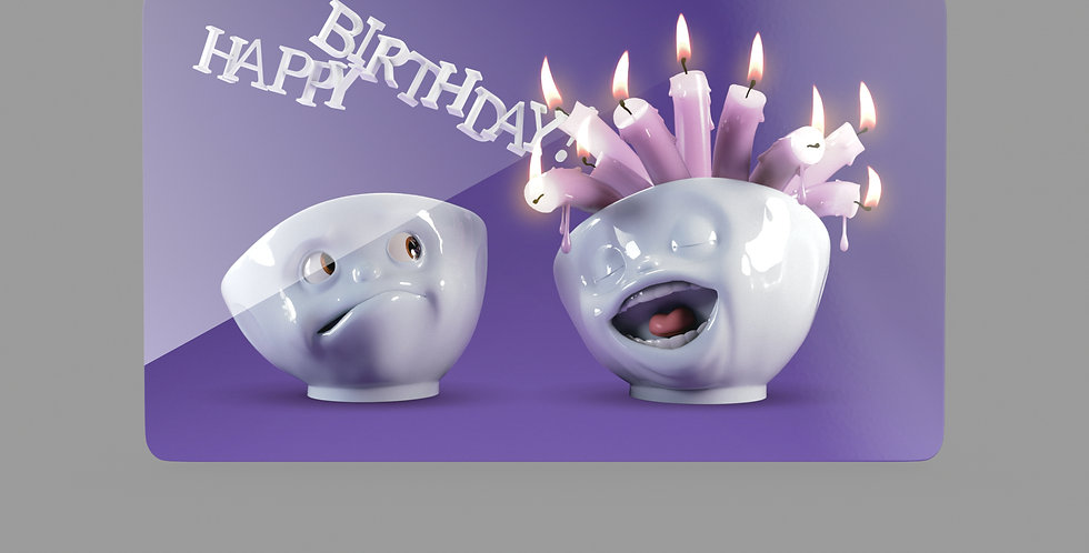 """Frühstücksbrettchen """"Happy Birthday"""""""