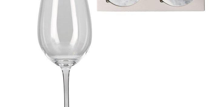 "Glasuntersetzer""Mr&Mrs"""