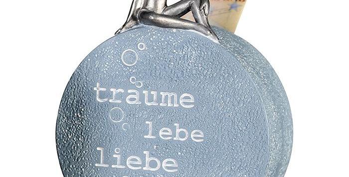 "Spardose ""Träume Lebe Liebe Lache"""