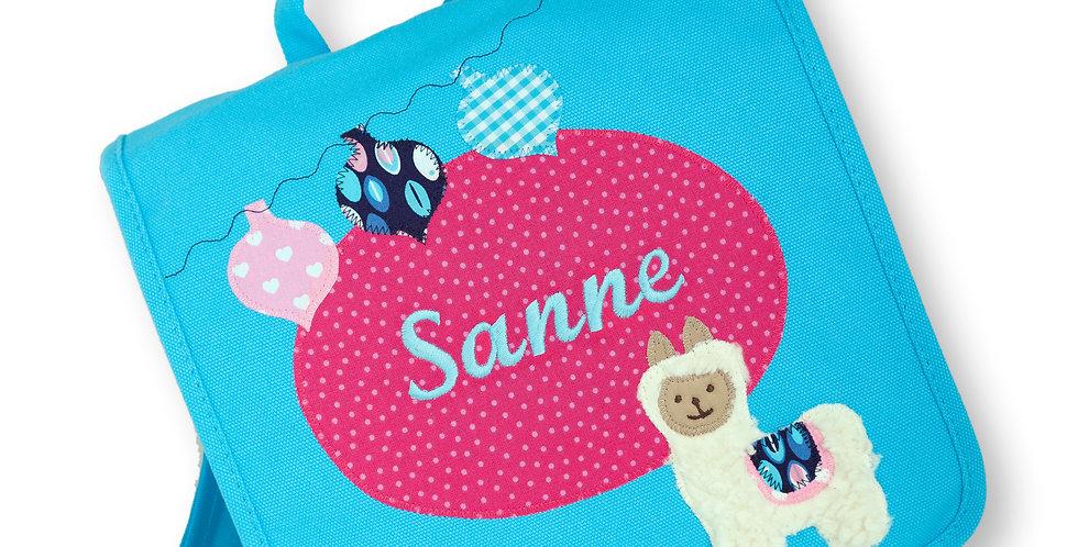 Kindergartentasche mit Namen & Motiv bestickt