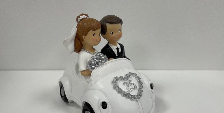 Spardose Goldene Hochzeit/Silberhochzeit