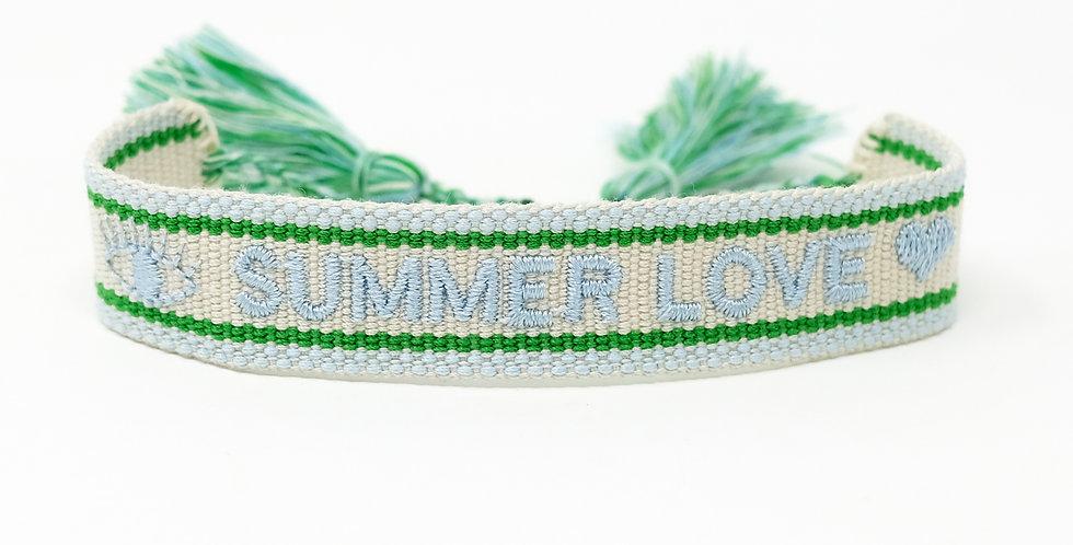 Stoff-Armband - SUMMER LOVE