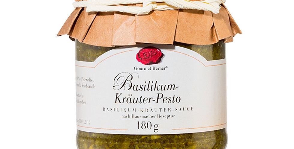 Basilikum-Kräuter Pesto - Gourmet Berner