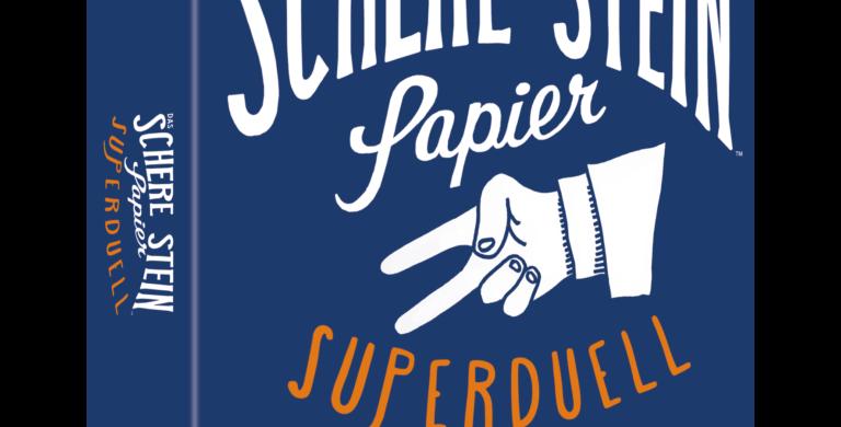 Spiel -Das Schere, Stein, Papier – Superduell
