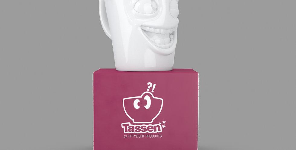 """Espresso-Mug mit Henkel """"Witzig"""", 80 ml"""