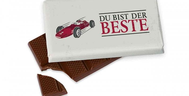 Schokolade als Männergeschenk