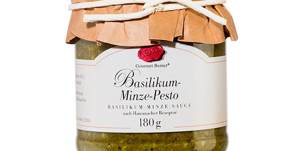 Basilikum-Minz Pesto - Gourmet Berner