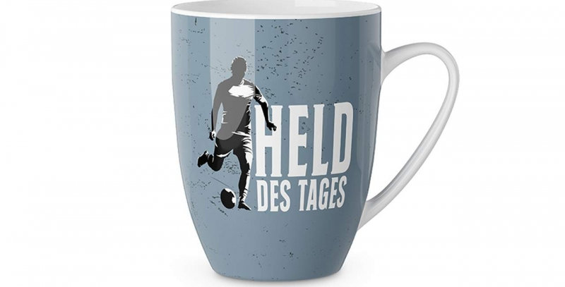 "Becher ""Held des Tages"""