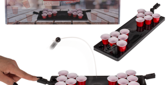 Trinkspiel, Beer Pong