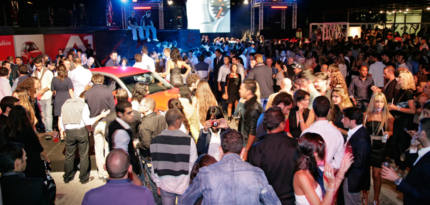 Evento Audi A1 - 2010
