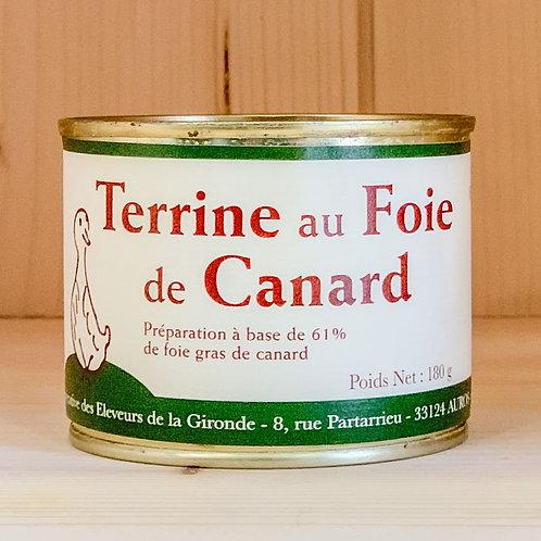 Terrine au Foie de Canard (180g)