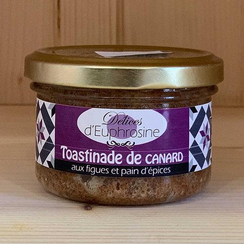 Toastinade de canard aux figues et pain d'épices (90g)