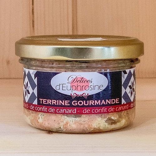 Terrine gourmande de confit de canard (90g)
