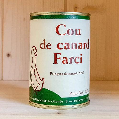 Cou de canard Farci (400g)