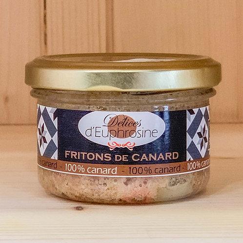 Fritons de canard 100% canard (90g)