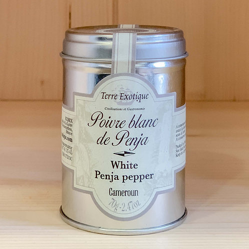Poivre blanc de Penja (70g)