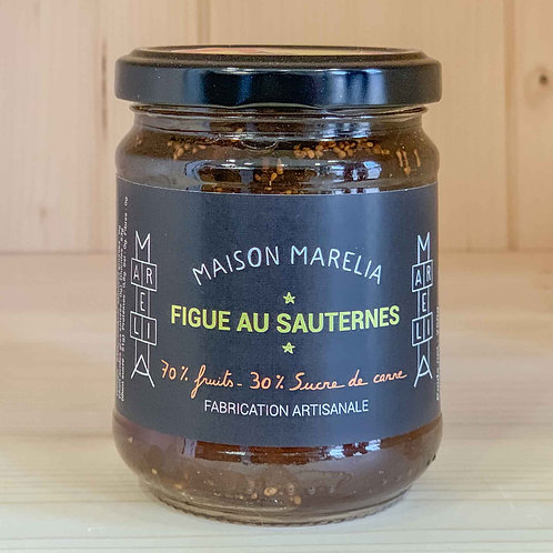 Confiture Figue au Sauternes (250g)