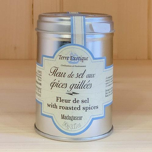 Fleur de sel aux épices grillées (90g)