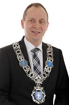 Burgemeester van Valkenswaard Anton Eder