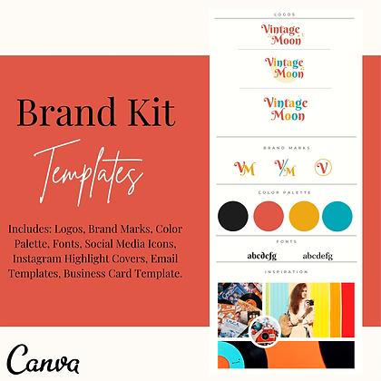 Retro Branding Kit