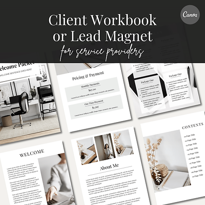 Client Welcome Template   Neutral