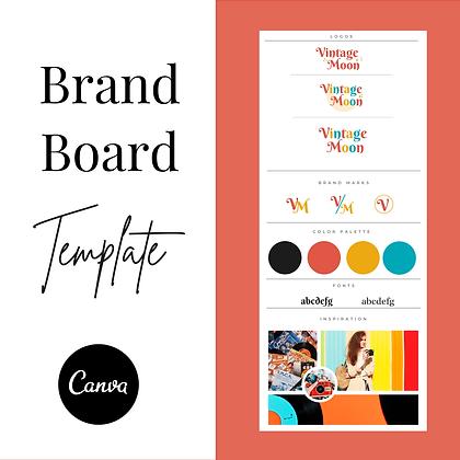 Retro Brand Board
