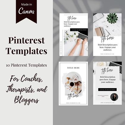 Minimalist Pinterest Pins