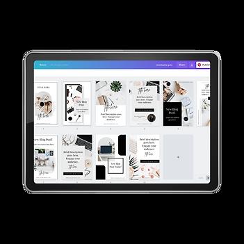 website templates, showit templates, canva templates, social media templates