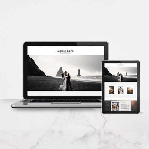 The Photographer | WIX Template