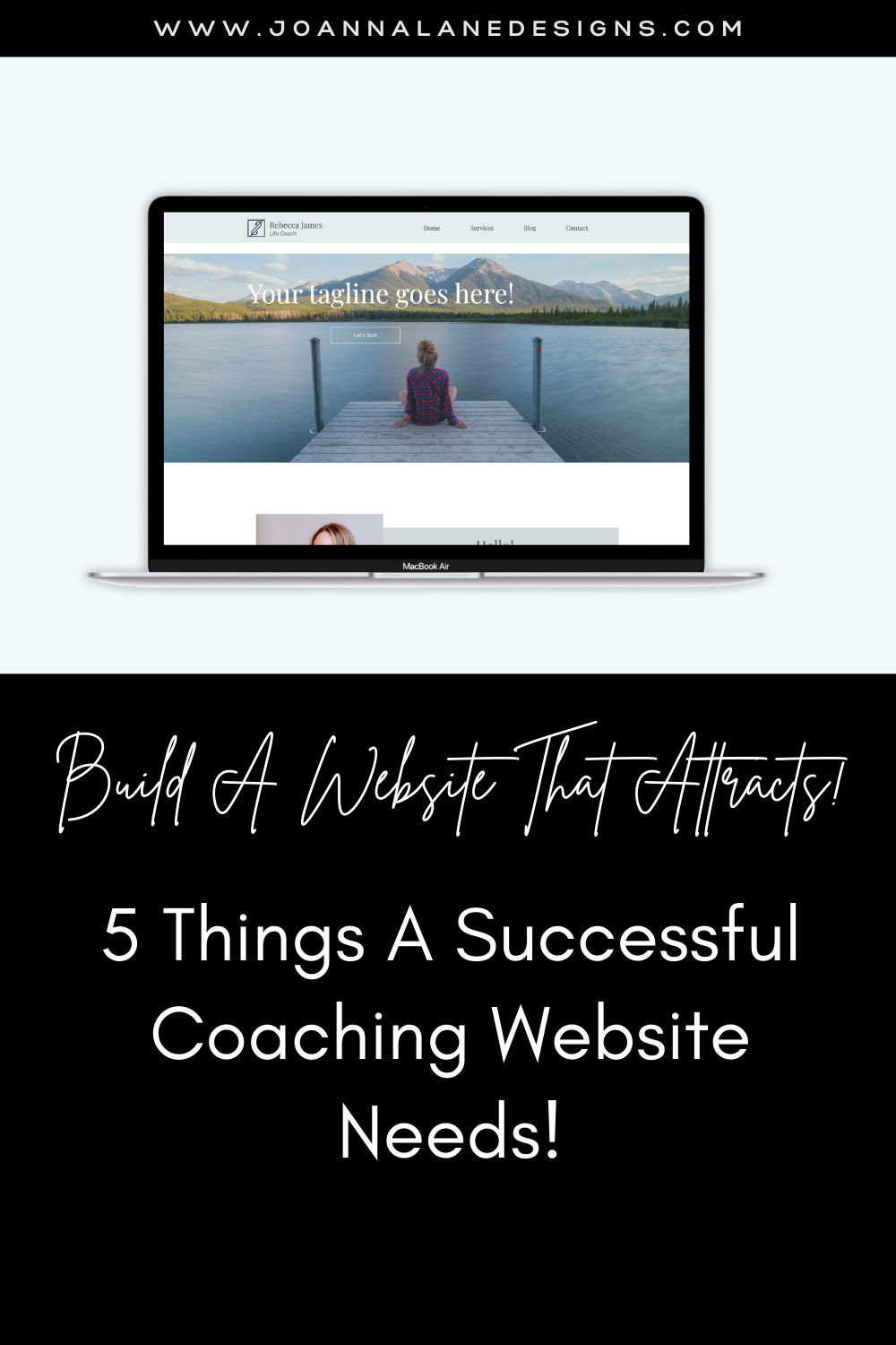 5 things a successful coaching website needs