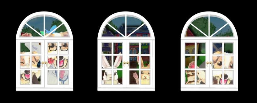 動く絵本 手描きアニメーション動画