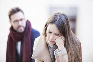 concerned sad partner can feel better talking about problems at Senta Sharp Counselling Brisbane, Australia