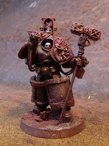Lonely Kitbasher 40K blanchitsu grey knight terminator