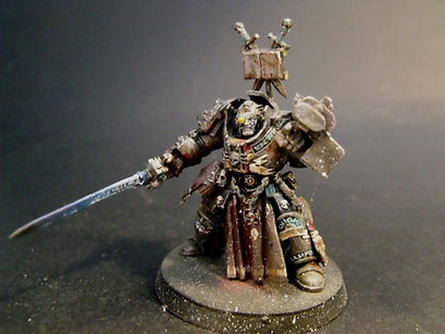 Lonely kitbasher 40k grey knight terminator