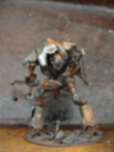 Lonely Kitbasher forge world 40K cadmus imperial knight lancer