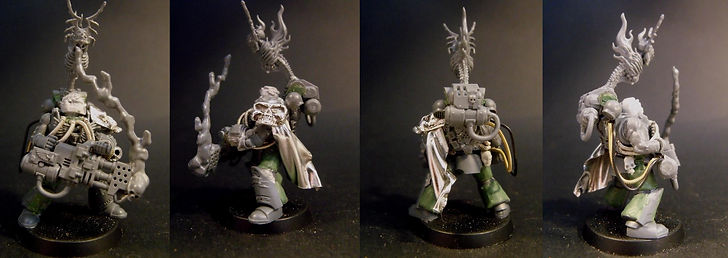 Lonely Kitbasher 40K TS truescale space marine
