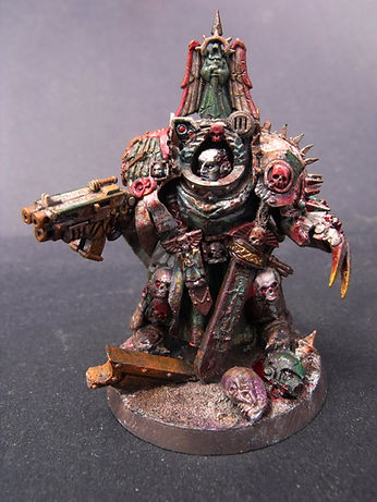 Lonely kitbasher 40k dark angels terminator chapter master Gabriel