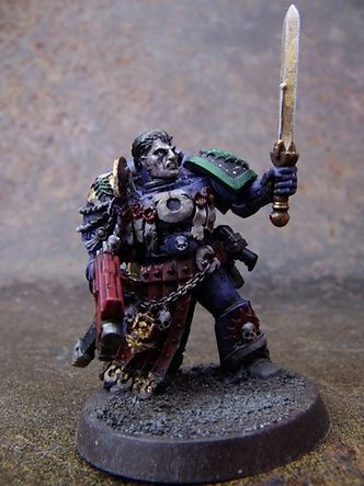Lonely Kitbasher 40K uriel ventris ultramarine